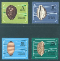 TOKELAU - MNH/** - 1974 - SHELLS - Yv 41-44 -  Lot 18352 - Tokelau