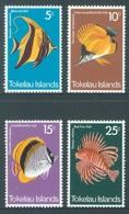 TOKELAU - MNH/** - 1975 - FISH - Yv 45-48 -  Lot 18353 - Tokelau
