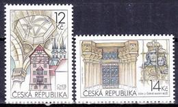 ** Tchéque République 2011 Mi 669-70, (MNH) - Czech Republic