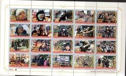 PAKISTAN, 2018, MNH, KASHMIR MARTYRS,  MILITARY, SOLDIERS, SHEETLET OF 20v (FOLDED) - Other