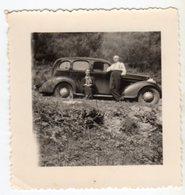 < Automobile Auto Voiture Car >> Belle Photo Originale 7 X 7 Tacot 1935 Chevrolet Master Deluxe Animé 'Luxemburg 1938' - Cars