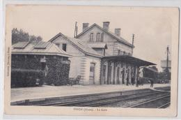 PINON - La Gare - Autres Communes