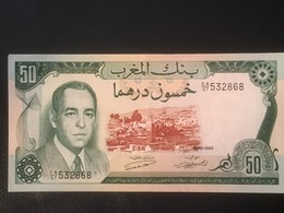 1970 Morocco 50 Dirhams - Uncirculated Unc. - Morocco