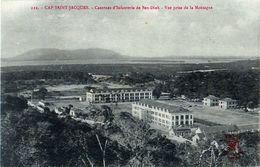 Cpa Vũng Tàu - CAP SAINT JACQUES - Casernes D' Infanterie De Ben Dinh - Vue Prise De La Montagne - Viêt-Nam
