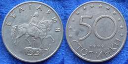 BULGARIA - 50 Stotinki 1999 KM# 242 Reform Coinage (1999) - Edelweiss Coins - Bulgarie