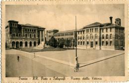 TREVISO  Piazza Della Vittoria  Palazzo Delle Regie Poste E Telegrafi - Treviso