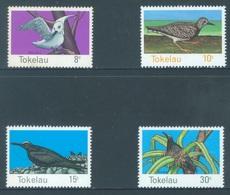 TOKELAU - MNH/** - 1977  - BIRDS - Yv 57-60 -  Lot 18355 - Tokelau