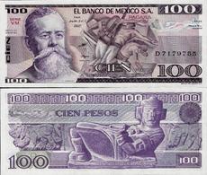 Mexico 1982 - 100 Pesos - Pick 74c UNC - Mexique