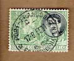 Congo Belge.(COB-OBP)  1955 - N°330    *VOYAGE ROYAL AU CONGO*   3F   Oblitéré - Congo Belge