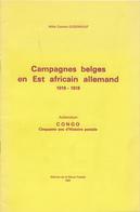 939/25 - CONGO BELGE Fascicule Campagnes Belges En EST AFRICAIN 1916/18, Par L' Abbé Gudenkauf , 18 P. , 1981 , Etat TTB - Colonies Et Bureaux à L'Étranger