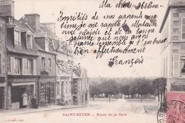 SAINT - SEVER  -  Rue De La Gare - Autres Communes