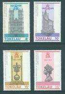 TOKELAU - MNH/** - 1978  - SILVER ANNIV. CORONATION ELIZABETH II - Yv 61-64 -  Lot 18356 - Tokelau