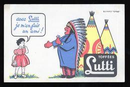 Buvard Bonbons Lutti Toffées - Buvard EFGE - Buvards, Protège-cahiers Illustrés