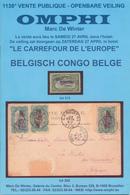 941/25 - CONGO BELGE, Catalogues Vente Collection Du Four , OMPHI 27/4/2002 , 2 Fascicules 740 Lots + Photos , Etat NEUF - Catálogos De Casas De Ventas