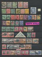 Collection Afrique Du Sud En Oblitérés  265 Timbres - Quelques Neufs - Afrique Du Sud (...-1961)