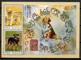 New Zealand 2006 Nueva Zelanda / Mammals Dogs MNH Perros Chiens Hunde / Cu10215  30 - Honden