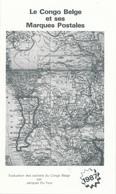 942/25 - CONGO BELGE , Table De Cotation Des Cachets, Par Jacques Du Four , 8 P. , 1987 , Etat NEUF - Catalogues De Cotation