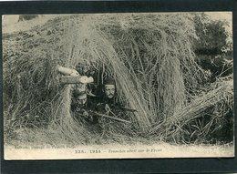 CPA - 1914 - Tranchée Abri Sur Le Front, Animé - Guerre 1914-18