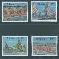 TOKELAU - MNH/** - 1978  - CANOE RACING - Yv 65-68 -  Lot 18358 - Tokelau
