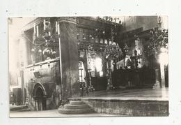 Cp , Carte Photo  Intérieur De L'église De La Nativité à Bethleem,, Religion , - Cartes Postales