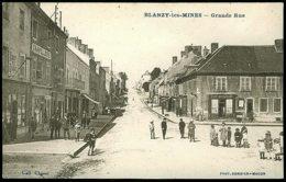 71 - B1551CPA - BLANZY LES MINES - Grande Rue - Parfait état - SAONE-ET-LOIRE - France
