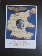 PK Postkart Hitler, 1938, Sonderstempel *DEL2096* - Weltkrieg 1939-45