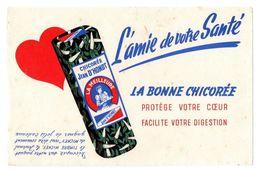 Buvard Chicorée Jean D'Hondt La Bonne Chicorée L'amie De Votre Santé - Café & Thé
