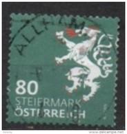2018 - 3407 - ° -  Heraldik Neu - 0,80 Steiermark - 1945-.... 2. Republik