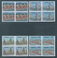 TOKELAU - MNH/** - 1978  - CANOE RACING - Yv 65-68 -  Lot 18359 BLOC OF 4 STAMPS - Tokelau