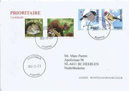 Sweden Sverige 2018 Kristdala Goldfinch Carduelis Carduelis  Bullfinch Pyrrhula Pyrrhula Marter Mouse Cover - Zangvogels