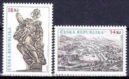 ** Tchéque République 2012 Mi 711-2, (MNH) - Czech Republic