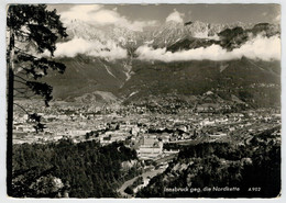 INNSBRUCK  GEG.  DIE  NORDKETTE          (VIAGGIATA) - Innsbruck