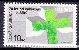 ** Tchéque République 2012 Mi 722, (MNH) - Czech Republic