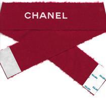"""CHANEL """" N°5 Rouge """" Noël 2018  Ruban Large Touge Inscription Chanel En Blanc - Cartes Parfumées"""