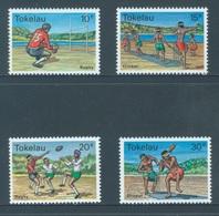 TOKELAU - MNH/** - 1979  - CRICKET RUGBY - Yv 69-72 -  Lot 18361 - Tokelau