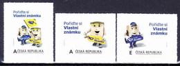 ** Tchéque République 2012 Mi 726-8, (MNH) - Czech Republic