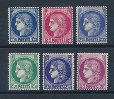 FRANCE - N°YT 372/76 NEUFS* AVEC CHARNIERE - COTE YT : 14€ - 1938/41 - Neufs