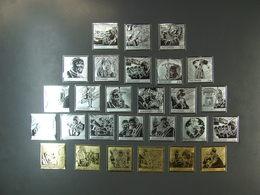 Gambia - 5548-74 Papst Silber Und Goldbriefmarken Komplett ** MNH Michelwert 180,00 € (6676) - Päpste