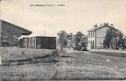Cpa 35 Retiers , La Gare , écrite 1929 - Autres Communes