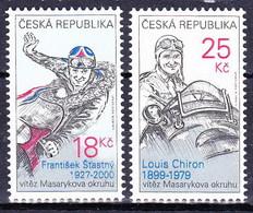 ** Tchéque République 2012 Mi 742-3, (MNH) - Czech Republic