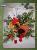 Kov 8-6,  New Year, Bonne Annee, Horseshoe, Fer à Cheval, Potkovica, Cube - Año Nuevo