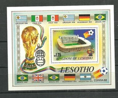 IVERT Nº B-F 14 ** 1982 - Lesotho (1966-...)
