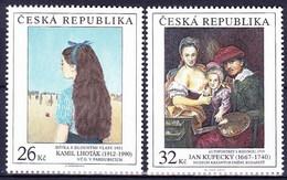 ** Tchéque République 2012 Mi 745-6, (MNH) - Czech Republic