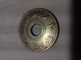 Monnaie 10 Mils Palestine Mandat Britannique - Coins