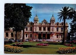U3973 Postcard MONTE CARLO, CASINO + Auto Cars Voitures + NICE TIMBRE TOURISTIQUE _ ED AJAX - Casinò