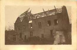 011218A - MILITARIA GUERRE 1914 18 BELGIQUE Dixmude PERVYSE 1917 Ruine Bombardement Maison Communale - Guerra 1914-18