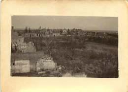 011218A - MILITARIA GUERRE 1914 18 BELGIQUE PERVYSE 1917 Ruine Bombe Bataille De L'Yser Vue Prise Du Poste Français - Guerra 1914-18