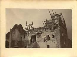 011218A - MILITARIA GUERRE 1914 18 BELGIQUE Dixmude PERVYSE 1917 Ruine Bombardement Maison Communale Sans Toiture - Guerre 1914-18