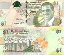 Bahamas  P-71  1 Dollar  2008  UNC - Bahamas