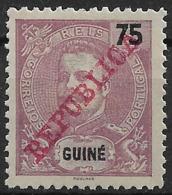 Portuguese Guinea – 1911 King Carlos Overprinted REPUBLICA - Portuguese Guinea